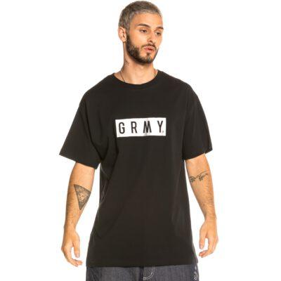 Camiseta GRIMEY manga corta unisex Steez Tee Sport Black Ref. GA576-FW20-BLk Negra logo pecho