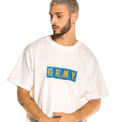 Camiseta GRIMEY manga corta unisex Steez Tee FW20 Sport White Ref. GA576-FW20-SPG- Blanca logo pecho