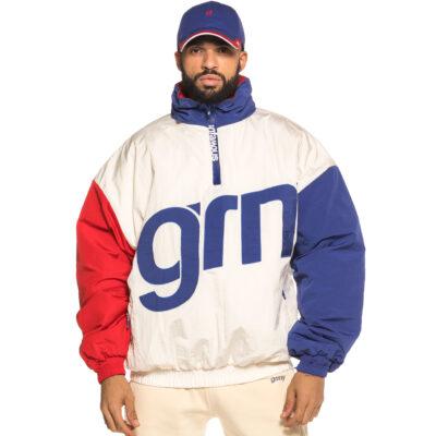 Chaqueta GRIMEY capucha unisex Flamboyant Pullover Jacket Ref. GPVJ106-FW18-WHT blanca