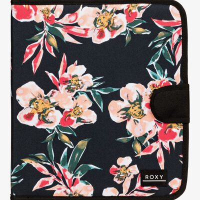 Carpesano Roxy Carpeta de 4 anillas What A Day Ref. ERJAA03778 ANTHRACITE WONDER GARDEN S (xkmr) estampado flores