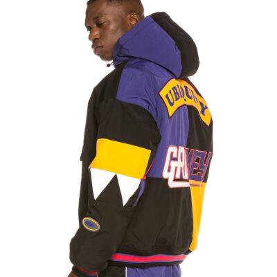 Anorak Invierno GRIMEY con capucha unisex Ubiquity Pull Over Jacket Black Ref. GPVJ119-FW20-BLK multicolor