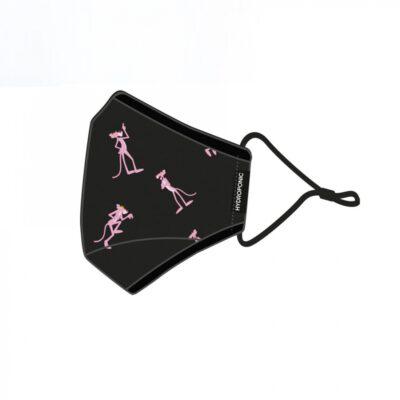 Mascarilla Hydroponic con bolsillo interior más filtro Breeze Black Pink Panther Face Mash Ref. FM001 negra Pantera rosa