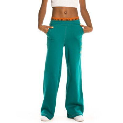 Pantalón campana chándal GRIMEY chica Track Pants Nite Marauder FW20 Green Ref. GGTS122-GRN verde esmeralda
