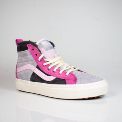 Zapatillas altas VANS Sneakers Skate ante chica Sk8-Hi 46 Mte Dx VN0A3DQ5TU91 (Mte) lila y gris