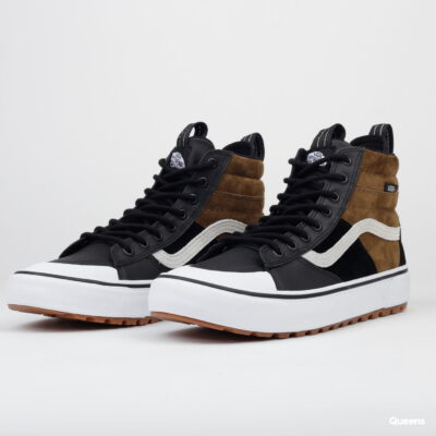 Zapatillas altas VANS Sneakers Skate deporte hombre Sk8-Hi Mte 2.0 Dirt VN0A4P3ITUH1 negro y marrón