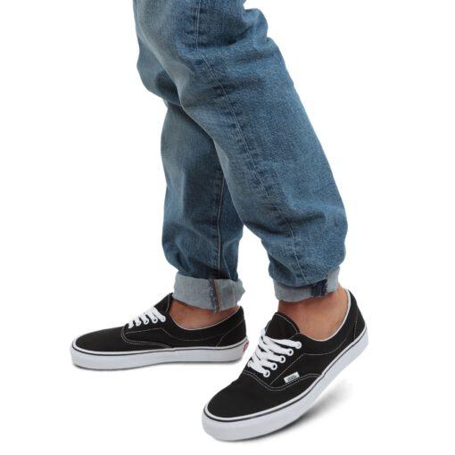 Zapatillas VANS Skate número uno del mundo Unisex Era ERA RETRO black Mod. VN000EWZBLK1 negras