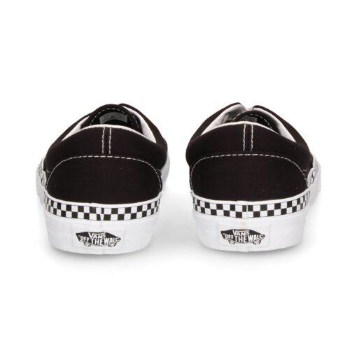 Zapatillas VANS Skate número uno del mundo chica Era Check Foxing Black/True Mod. VN0A38FRVOS1 negra cuadrados fórmula 1