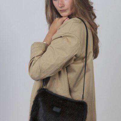 Bolso BARTS de hombro de piel sintética mujer SALWEEN SHOULDERBAG Ref. 17550241 Color negro