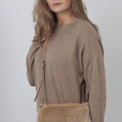 Bolso BARTS de hombro de piel sintética mujer SALWEEN SHOULDERBAG Ref. 17550241 Color camel