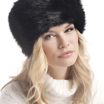 Gorro-Sombrero Barts JOSH HAT pelo suave sintético ajustable para mujer Ref. 0174001 negro