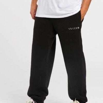 Pantalón chándal VOLCOM hombre suave HEVER FLEECE - BLACK Ref. A1232002 negro