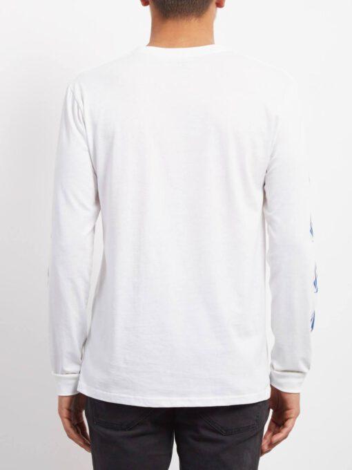 Camiseta Hombre VOLCOM manga larga DEADLY STONE - WHITE Ref. A3631850 logos diamantes manga blanca