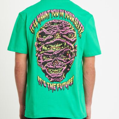 Camiseta Hombre VOLCOM manga corta MICHIEL WALRAVE - SCAROMATIC GREEN Ref. A5232050 It's The Future verde