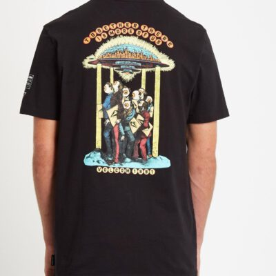 Camiseta Hombre VOLCOM manga corta ELZO DURT 1991 - BLACK Ref. A5232051 negra