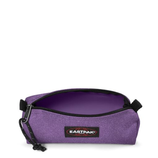Estuche Eastpak escolar: Benchmark SINGLE EK372I83 Sparkly Petunia lila brillante purpurina