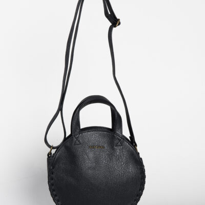 Bolso Rip Curl forma redonda de hombro Manhattan Ref. LSBNR1 color negro