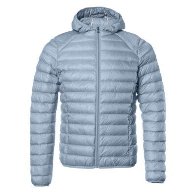 Chaqueta capucha Jott de plumas Niña Sky 171 CARLA BASIC Justoverthetop Color azul claro