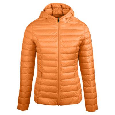 Chaqueta con capucha Jott de plumas pato Niño Abricot HUGO BASIC Justoverthetop Color naranja claro albaricoque