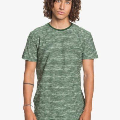 Camiseta Hombre QUIKSILVER manga corta Kentin GREENER PAST (gsg3) Ref. EQYKT04026 verde rayas