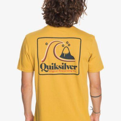 Camiseta Hombre QUIKSILVER manga corta Beach Tones HONEY (ylv0) Ref. EQYZT06053 amarilla