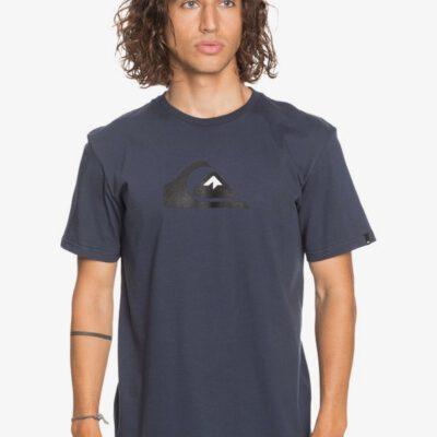 Camiseta Hombre QUIKSILVER manga corta Comp Logo PARISIAN NIGHT (byp0) Ref. EQYZT06060 Azul logo básica
