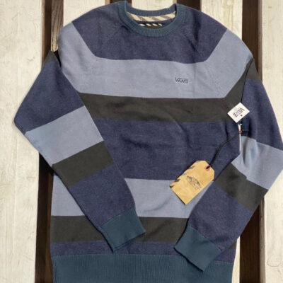 Jersey Suéter Niño Vans Sylmar Ref. VN-0UF2MON TC6R V38A055 rayas azules