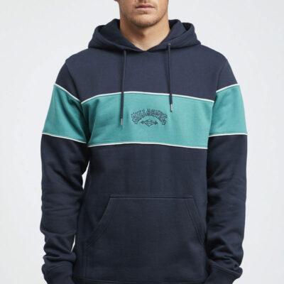 Sudadera chico con capucha Billabong edge pullover ref. q1ho01 BIF9 navy azul marino y verde botella