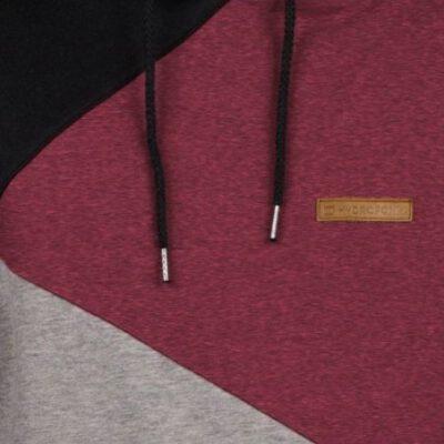 Sudadera Hydroponic Niño con capucha Skate Golden Gate HD Ref. 18547Y Gris granate y negro