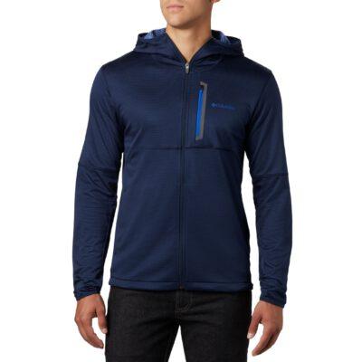 Sudadera COLUMBIA con capucha y cremallera hombre Tech Trail™ Ref. 1883331464 azul