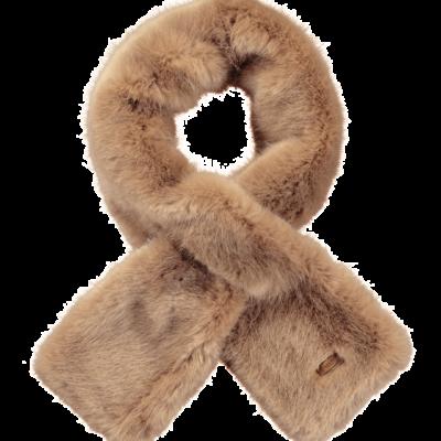 Bufanda Barts cálida de pelo sintética para mujer HOLLY SCARF Ref. 28930241 light brown beig