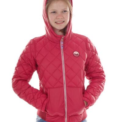 Chaqueta O'NEILL niña con capucha LG VOYAGE JACKET Lifestyle girls Ref. 7P6078 Rosa