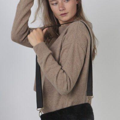 Bolso BARTS de hombro de piel sintética mujer KARA SHOULDERBAGG Ref. 4850001 black negro