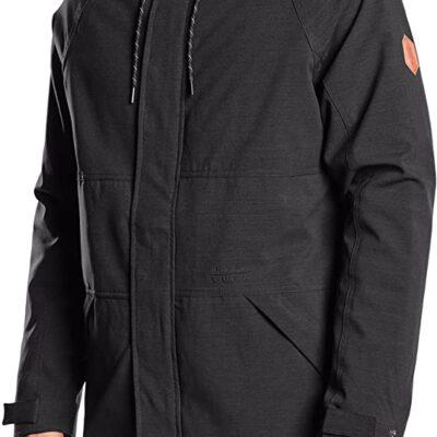 Chaqueta invierno Hombre Rip Curl Urbana con capucha cálida Hot Box Anti Jacket Ref. CJKBP4 negra