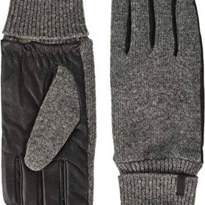 Guantes Barts de cuero hombres BHRIC Gloves Grey Talla L Ref. 3549402 gris lana y piel