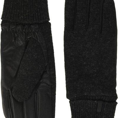 Guantes Barts de cuero hombres BHRIC Gloves Black Talla L Ref. 3549401 negros