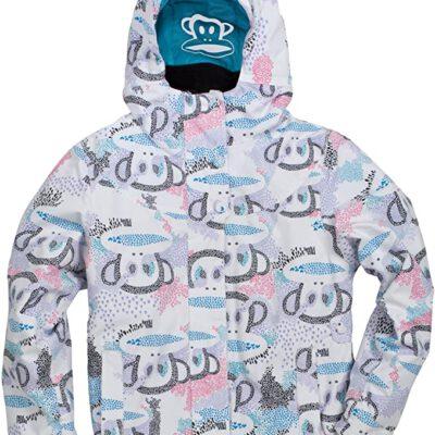 Chaqueta esquí PAUL FRANK niña con capucha Doodilush ins Jacket Lavanda Ref. P1W702 Estampada mono