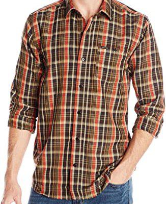 Camisa VOLCOM de Manga larga Hombre FLANAL CUADROS BARTLETT LS Ref. A0531505 Cuadros marrones