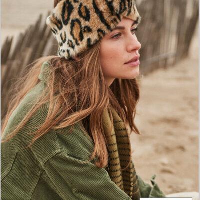 Diadema banda Barts de pelo sintético para mujer ASTER HEADBAND Ref. 4469009 Leopard estampado animal print