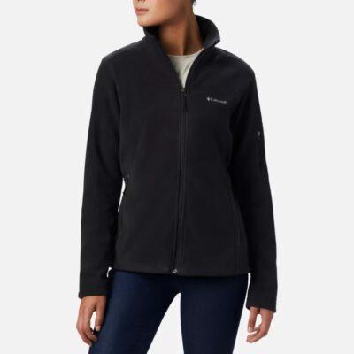 Polar COLUMBIA muy suave cuello alto con cremallera básico Mujer Fast Trek™ II Black Ref. 1465351010 negro