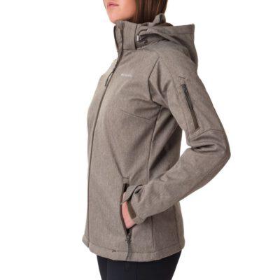 Chaqueta COLUMBIA capucha, cremallera y aislamiento para Mujer clásica Cascade Ridge™ Jacket Olive Green Heather Ref. 1685381319 verde jaspeado