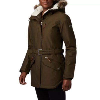 Chaqueta COLUMBIA con capucha y aislamiento para Mujer cálida Carson Pass™ Olive Green Ref. 1515501319 verde oliva