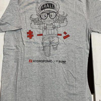 Camiseta Hombre HYDROPONIC manga corta T-SHIRT ARALE SS CLASSIC Ref. 20001 Grey Gris