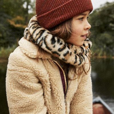 Bufanda/Cuello Barts cálida de pelo sintética para niñas DOOZY COL Leopardo Ref. 4589009