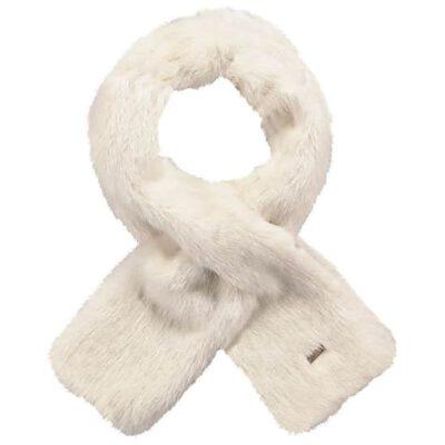 Bufanda Barts cálida de pelo sintética para mujer HOLLY SCARF Ref. 2893010 White blanca