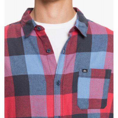 Camisa QUIKSILVER de Manga Larga franela Hombre Motherfly Flannel BYP1 Ref. EQYWT04015 Cuadros rojos y azules