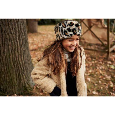 Diadema/banda Barts de piel sintética para niñas cálida de pelo sintética DOOZY Headband lepoard Ref. 4590409 leopardo