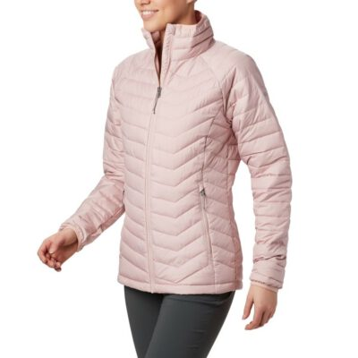 Chaqueta COLUMBIA con cremallera y aislamiento para Mujer clásica Powder Lite™ Pink Ref. 1699061626 rosa palo