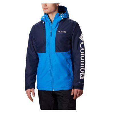 Chaqueta Nieve COLUMBIA con capucha Omni-Tech™ para hombre invierno cálida Timberturner Ref. 1864282463 azul