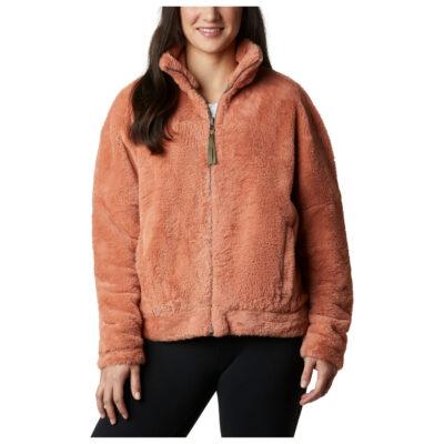 Polar reversible COLUMBIA muy suave cuello alto con cremallera Mujer Bundle Up™ Ref. 1907222604 rosa salmón