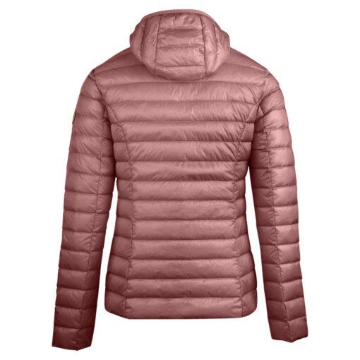 Chaqueta con capucha Jott de plumas pato Mujer CLOE BASIC 4900/462 Poudre Justoverthetop Color Rosa maquillaje